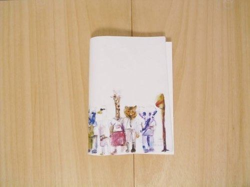 [IAN - Pure Plan] [cotton] organic cotton Notebook - animals car