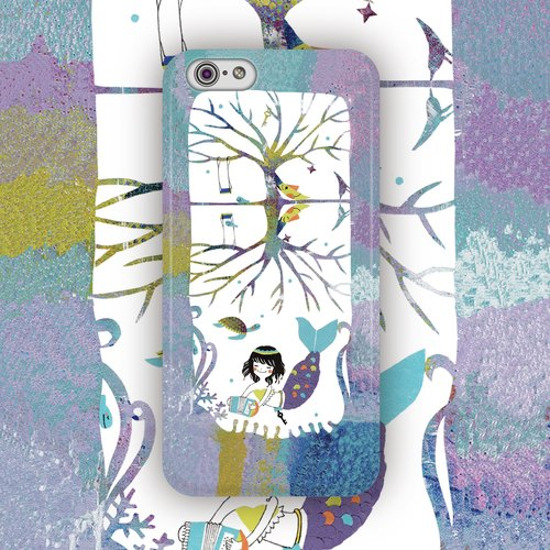 ▷ Umade ◀ The Eyes Eyes [iPhone7 (i7, i7plus, i6, i6s, i6plus, i6splus, i5se, i5s, i5c,) / Android (Samsung, Samsung, HTC, Sony) Phone Case / Accessories - matte hard shell - Artist creation of Apple Pomme Go]
