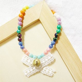 {Color fruit bubble bubble} hand-tight pet jewelry collar