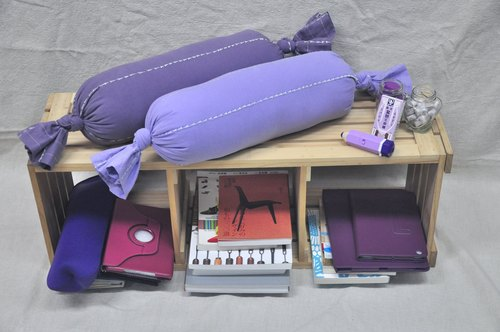 Healing is the life of good products: candy pillow (purple combination)