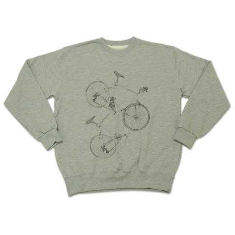 clear bicycle (sweat)