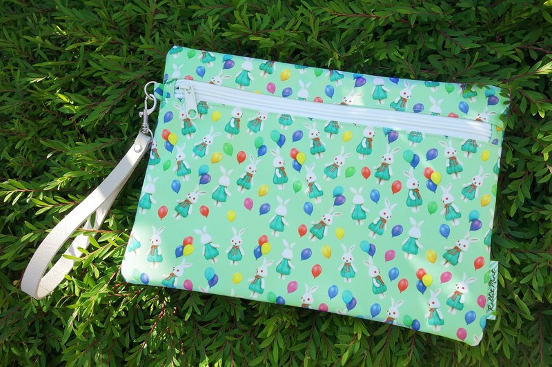 (Rabbit Mint) Mint rabbit Clutch - (CA0010)