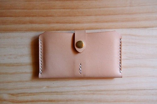 A card holder horizontal section