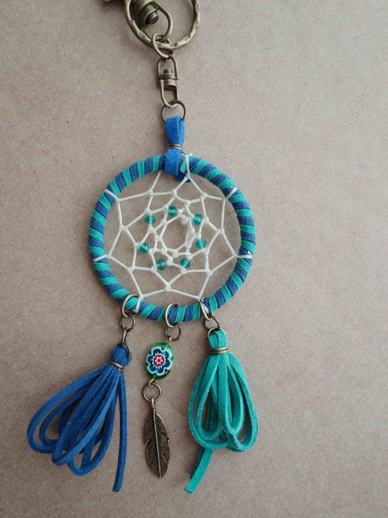 ~ M + Bear ~ Dreamcatcher Dreamcatcher (key ring / color blue)