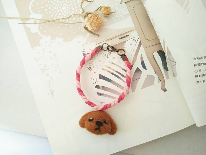 Mineue sheep blankets animal ornaments braided bracelet: red VIP Taiwan manufacturing all hand
