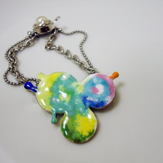 Rainbow Bubbles Rainbow Bubbles Enamel Bracelet