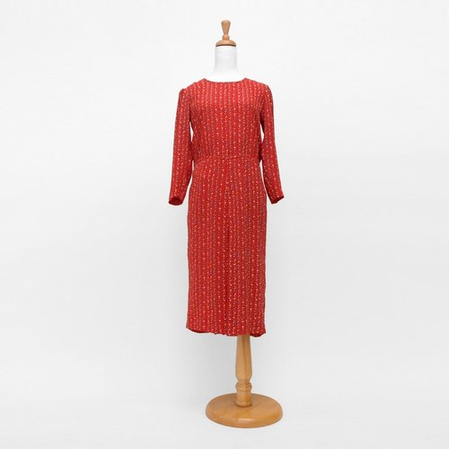 │moderato│ fun little party retro retro red vintage dress girl │ London boy young artists