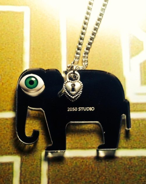 ▲ horror series - Elephant ▲ necklace, strap