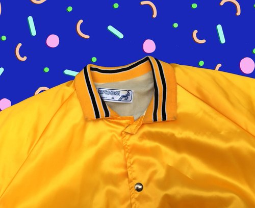 US firms │ ancient cave system x Yellow Capricorn │ vintage coach jacket