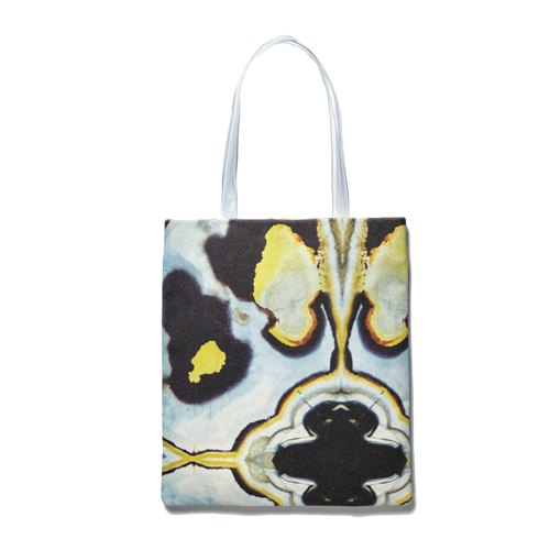 HARD SWIRLS Blue Stone Tote