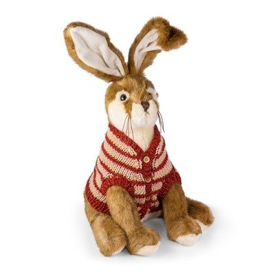 SUSS- British imports high-quality design rabbit puppet styling doorstop (sweater rabbit models) - Spot Free transport / suitable birthday gifts