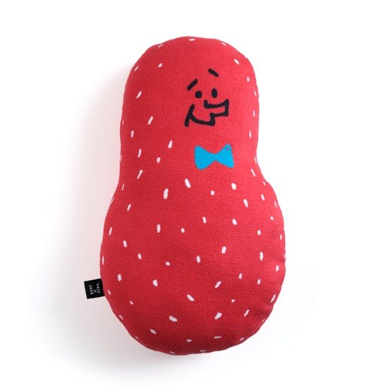 Good peanut pillow / red