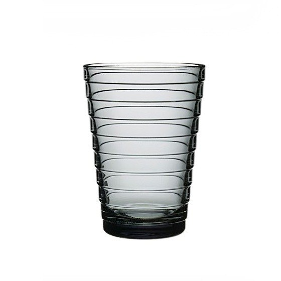 330cc [MSA] want to drink water (gray) Northern Europe and Finland iittala Aino Aalto ripples Cup lead-free crystal glass crystal glass sculpture