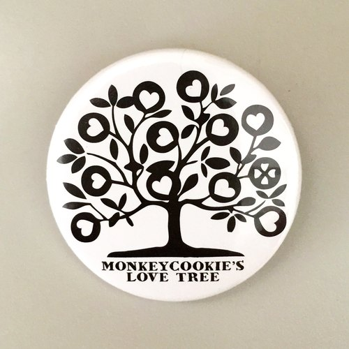 Tree blossoms edition badge Love
