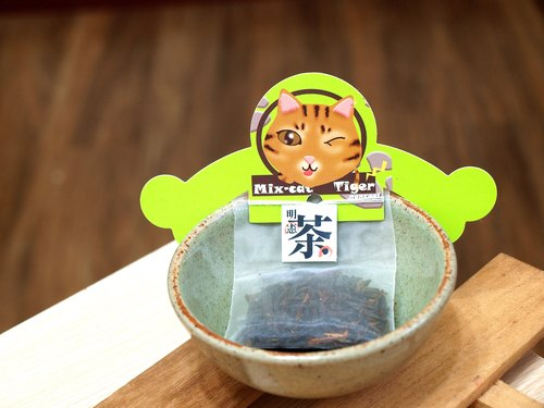 """Father Tea‧ Ming Xian tea"" Pet Series - Creative teabag group (10 into the box) - meow C1 group"