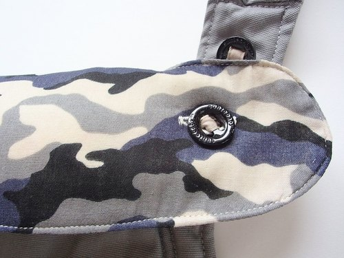 Ergo 360 BIB,Teething Bib,Baby Carrier Accessory,Ergo Cover,Sucking Pads,Waterproof,Cotton,Muslin,Black Beige Camouflage