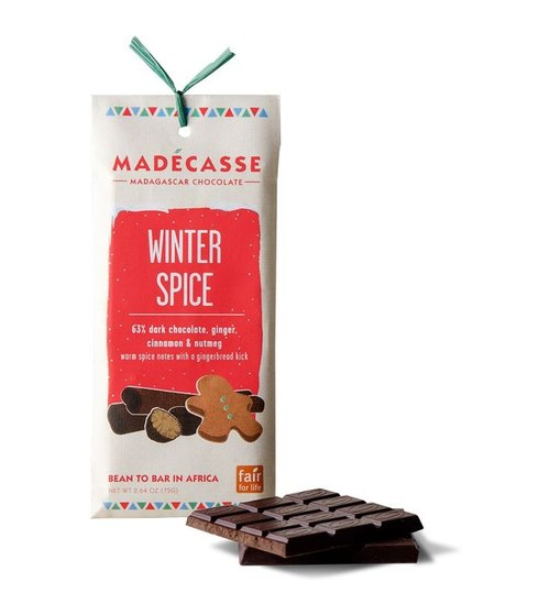 Madagascar chocolate spice winter _ _ fair trade