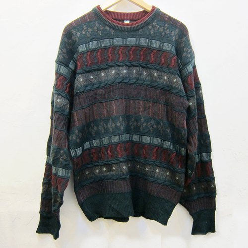 Featured ❄ ❄ Christmas Xmas Christmas neutral color three-dimensional textured vintage sweater
