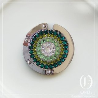 OPUS Swarovski Series - Pure Green
