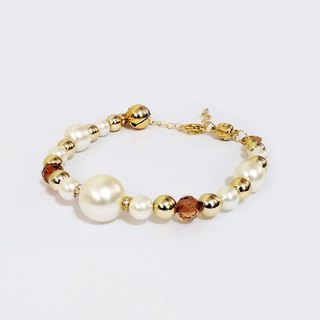 Ella Wang Design jewelry pearl necklace - teeth white cat collar pet collar necklace handmade fashion