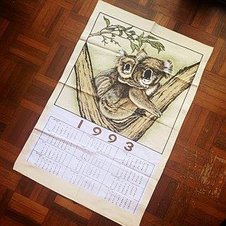 1993 American early years cloth calendar prayer