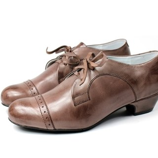 Cocoa │ retro Oxford shoes