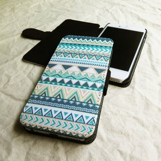 Bright- Tribal Geometric - Designer,iPhone Wallet,Pattern iPhone wallet