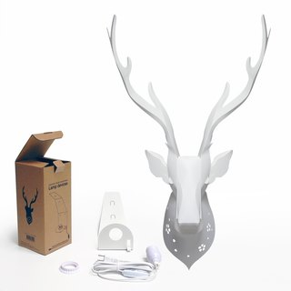 Formosan Sika Deer Wall (lampshade lamp holder wire + group) Formosan Sika Deer Lampshade