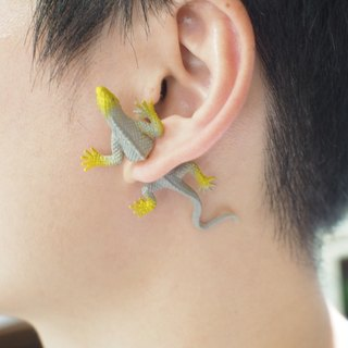 Taiwan Original Double M Magic Lizard Earrings