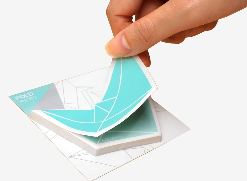 Fold Memo Christmas New Year Gift Exchange Sticky Origami Paper