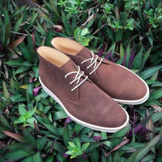 Streetboys Street Walk - Full Leather Handmade Shoes - Brownie