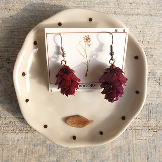 Echinacea aroma earrings (single)