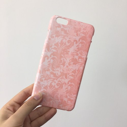 Pink floral 71 3D Full Wrap Phone Case, available for  iPhone 7, iPhone 7 Plus, iPhone 6s, iPhone 6s Plus, iPhone 5/5s, iPhone 5c, iPhone 4/4s, Samsung Galaxy S7, S7 Edge, S6 Edge Plus, S6, S6 Edge, S5 S4 S3  Samsung Galaxy Note 5, Note 4, Note 3,  Note 2