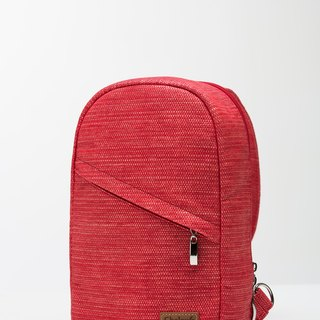 Cross-body bag Single Strap Backpack│ natural water repellent │ paper fiber │ machine washable