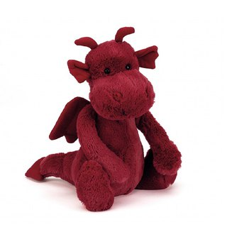 Jellycat Bashful Dragon 噴火龍 26cm
