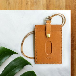 【ADOLE】 leather handmade DIY sets - document sets - brown