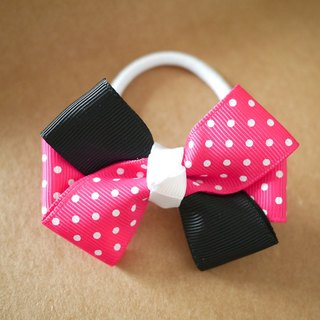 Minnie Minnie Mouse theme of children hair accessories hair ring / Hairpin / Headband