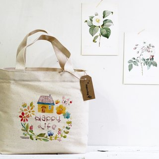 Beautiful life illustrator bag small bag