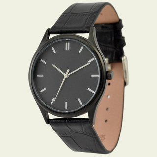 Mysterious Black watch (Silver)