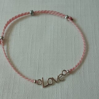 ~ M + bear ~ LOVE fine bracelet series when love comes