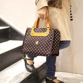 [Outdated goods limited edition] Japanese sweet little bit handbag Made in Japan by CLEDRAN