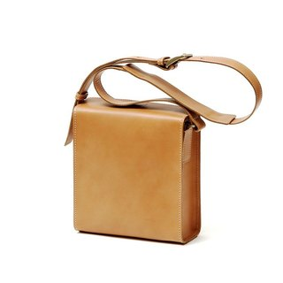 Miro Italian leather shoulder bag / hand made to order