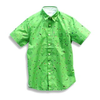 Japanese brands sold exclusively ICHIMI- Yoyogi Park full version printed shirt
