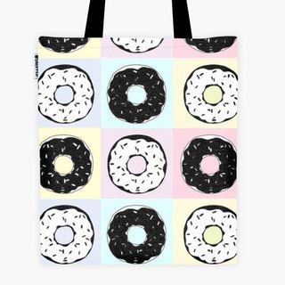 Filament - canvas bag - Dark Chocolate Donuts