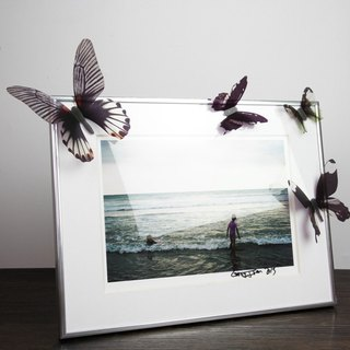 HomePlus 3D STREAK BUTTERFLY - BLACK