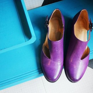 # 884 # quiet play Shuai balance side of the space when the tone purple shoes