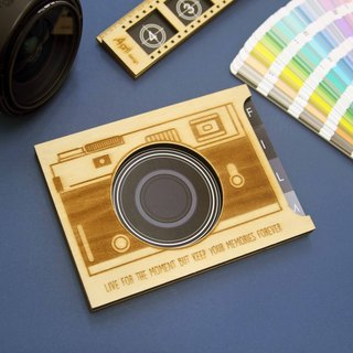 Wooden Storytelling Card - Camera