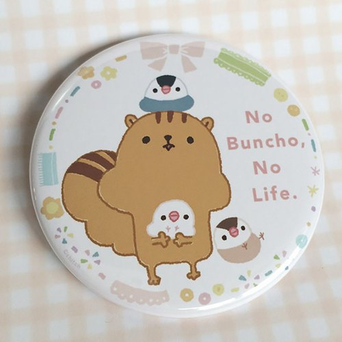 No Buncho, No Life.(缶バッチ)