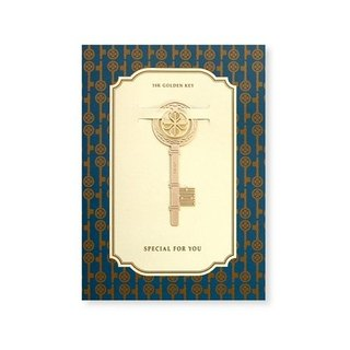 bookfriends-18K gold natural modeling bookmark - key, BZC24135