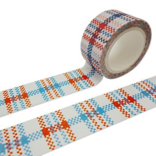 Hong Kong Masking Tape - Hong Kong Series - Red White Blue Wire (S2014-174)